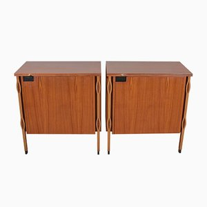 Taormina Cabinets by Ico & Luisa Parisi for MIM, 1958, Set of 2