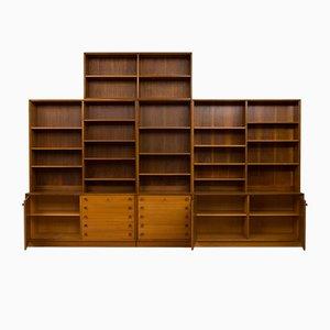 Librería modular de Illum Bolighus, años 60