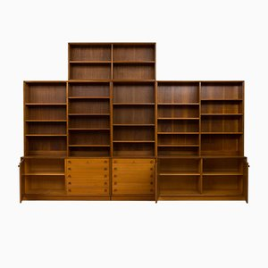 Libreria modulare di Illum Bolighus, anni '60