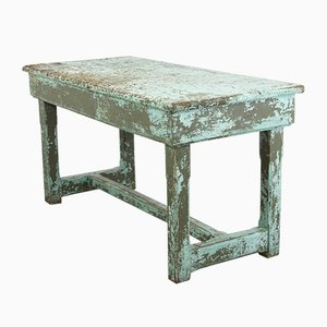 Blue Workbench Table, 1920s