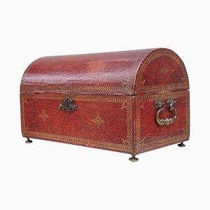 Baúl francés vintage, siglo XVIII