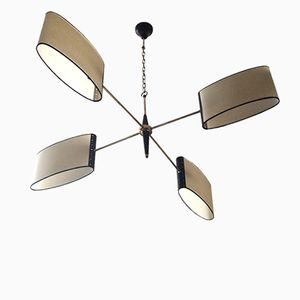 Mid-Century French Chandelier from Lunel