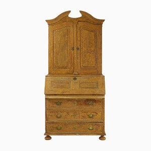 18th Century Painted Wooden Cabinet