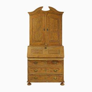 Mobiletto in legno verniciato, XVIII secolo