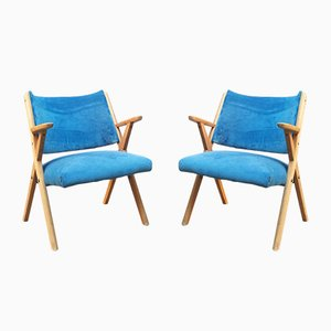 Vintage Armchairs from Dal Vera, 1960s