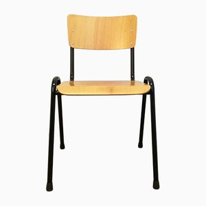 Vintage Stackable School Chair, 1980s