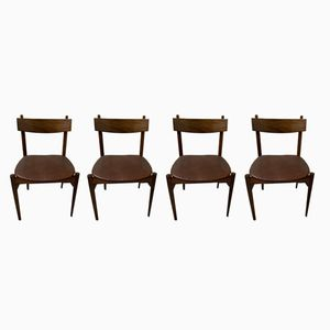 Vintage British Dining Chairs from Wrighton, Set of 4