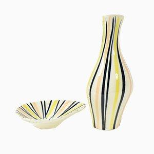 Pajamas Keramiken von Jarmila Formankova für Ditmar Urbach, 1950er, 2er Set