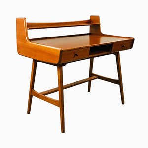 Mid-Century French Desk by Jacques Hauville for BEMA, 1960s