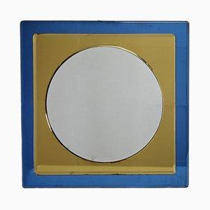 Mid-Century Italian Mirror by Antonio Lupi for Cristal Luxor, 1960s