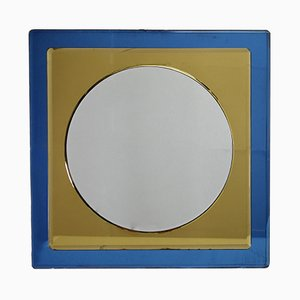 Miroir Mid-Century par Antonio Lupi pour Cristal Luxor, Italie, 1960s