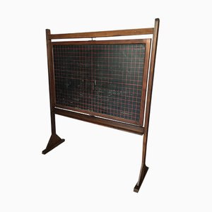 Mid-Century French Reversible Chalk Board, 1950s