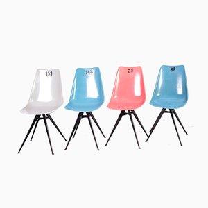 Vintage Stühle von Vertex, 1960er, 4er Set