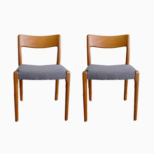 Mid-Century Danish Chairs from EMC Møbler, Set of 2