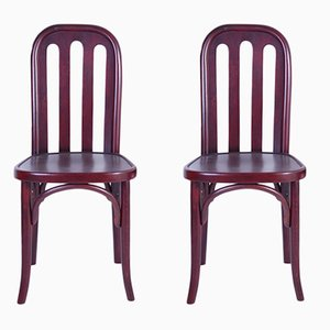 Antique Chairs by Josef Hoffmann for Jacob & Josef Kohn, Set of 2