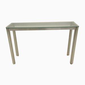 Table Console Minimaliste Vintage par George Ciancimino
