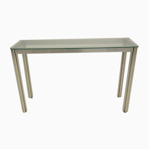 Vintage Minimalist Console Table by George Ciancimino