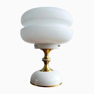Lámpara de mesa checa vintage, años 60