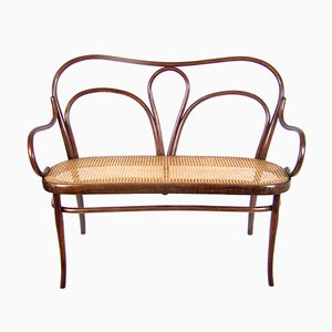 Art Nouveau No. 18 Bench from Thonet, 1910s