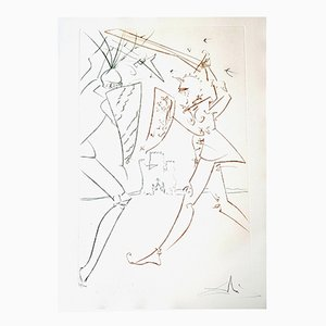 The Pass of Gadalore Etching by Salvador Dalí­, 1975