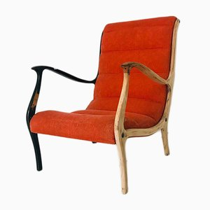 Vintage Model Mitzi Armchair by Ezio Longhi, 1950s