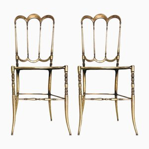 Vintage Art Nouveau Side Chairs, 1930s, Set of 2