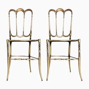 Vintage Jugendstil Beistellstühle, 1930er, 2er Set