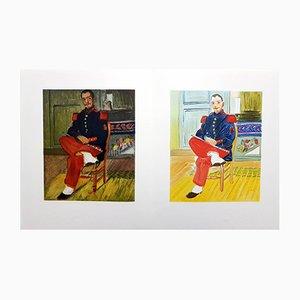 Lithographie Raoul Dufy Autoportrait, 1965