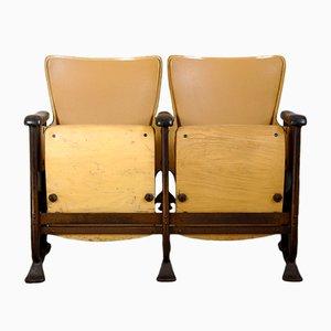 Seduta da cinema Art Deco vintage di Fibrocit, anni '20