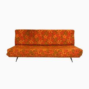 Italienisches Vintage Sofa in Orange, 1960er