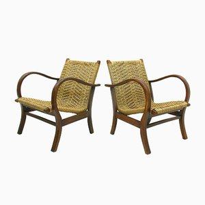 Armlehnstühle von Vroom & Dreesman, 1960er, 2er Set