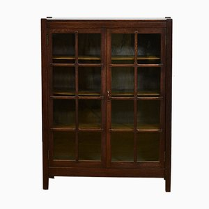 American Arts & Crafts Mission Bookcase, 1910s