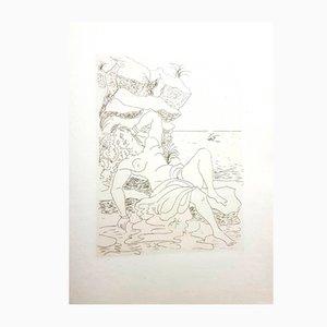 Incisione Ovid's Heroides di André Derain, 1938