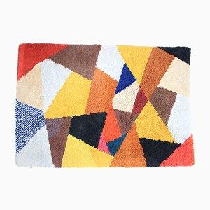 Mid-Century Teppich mit geometrischem Muster, 1972
