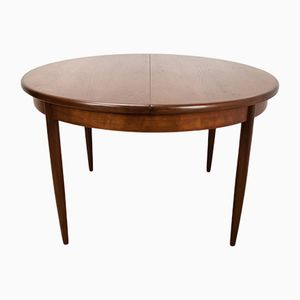 Vintage Extendable Round Dining Table from G-Plan