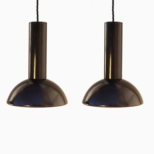 French Pendant Lights from Lita, 1970s, Set of 2