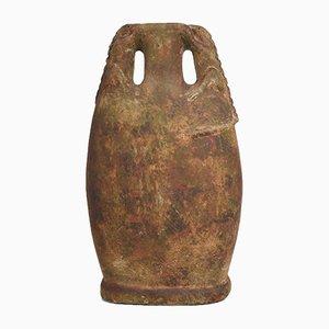 Stoneware Lizard Urn, 1930s