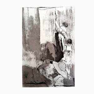 Loneliness Radierung von Jean Jansem, 1974