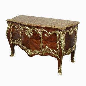 Comò in stile Luigi XV di E Kahn, Francia, fine XIX secolo