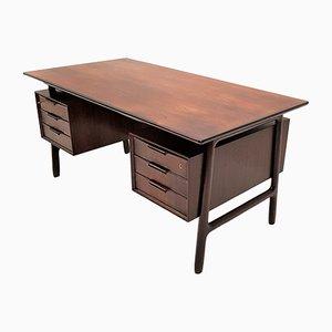 Vintage Modell 75 Schreibtisch aus Palisander von Omann Jun, 1960er
