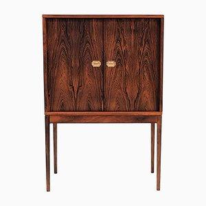 Vintage Brazilian Rosewood Model 132 Bar Cabinet by Henning Korch for Silkeborg Møbelfabrik