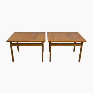 Teak Side Tables from France and Søn, 1960s, Set of 2