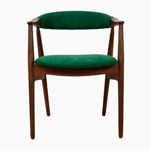 Vintage Beistellstuhl aus Teak von Th. Harlev für Farstrup Møbler, 1960er