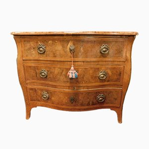 Antique Briar Veneered Chest of Drawers, 1700s