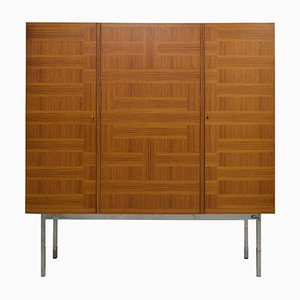 Indian Rosewood Highboard by Arthur Traulsen for WK Möbel, 1960s
