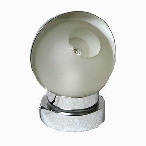 Lámpara de mesa vintage con cubierta giratoria de Jean Perzel