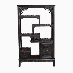 Chinesischer Vitrinenschrank, 1880er