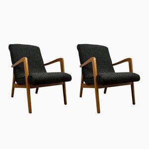 Butacas Type 300-138 de Bystrzyckie Furniture Factory, años 60. Juego de 2
