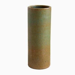 Grüne Vintage Vase von Rudi Stahl, 1960er