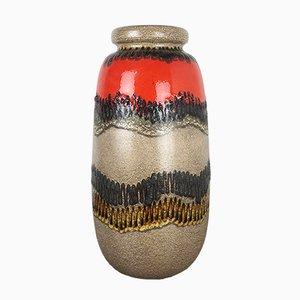 Large Fat Lava 284-53 Floor Vase from Scheurich, 1970s